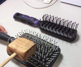 Adjustable Hairbrush Cleaner