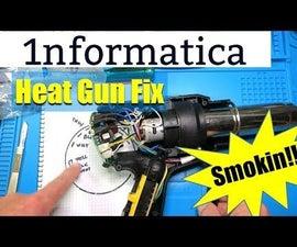 Earlex HG2KLCD Heat Gun Fix