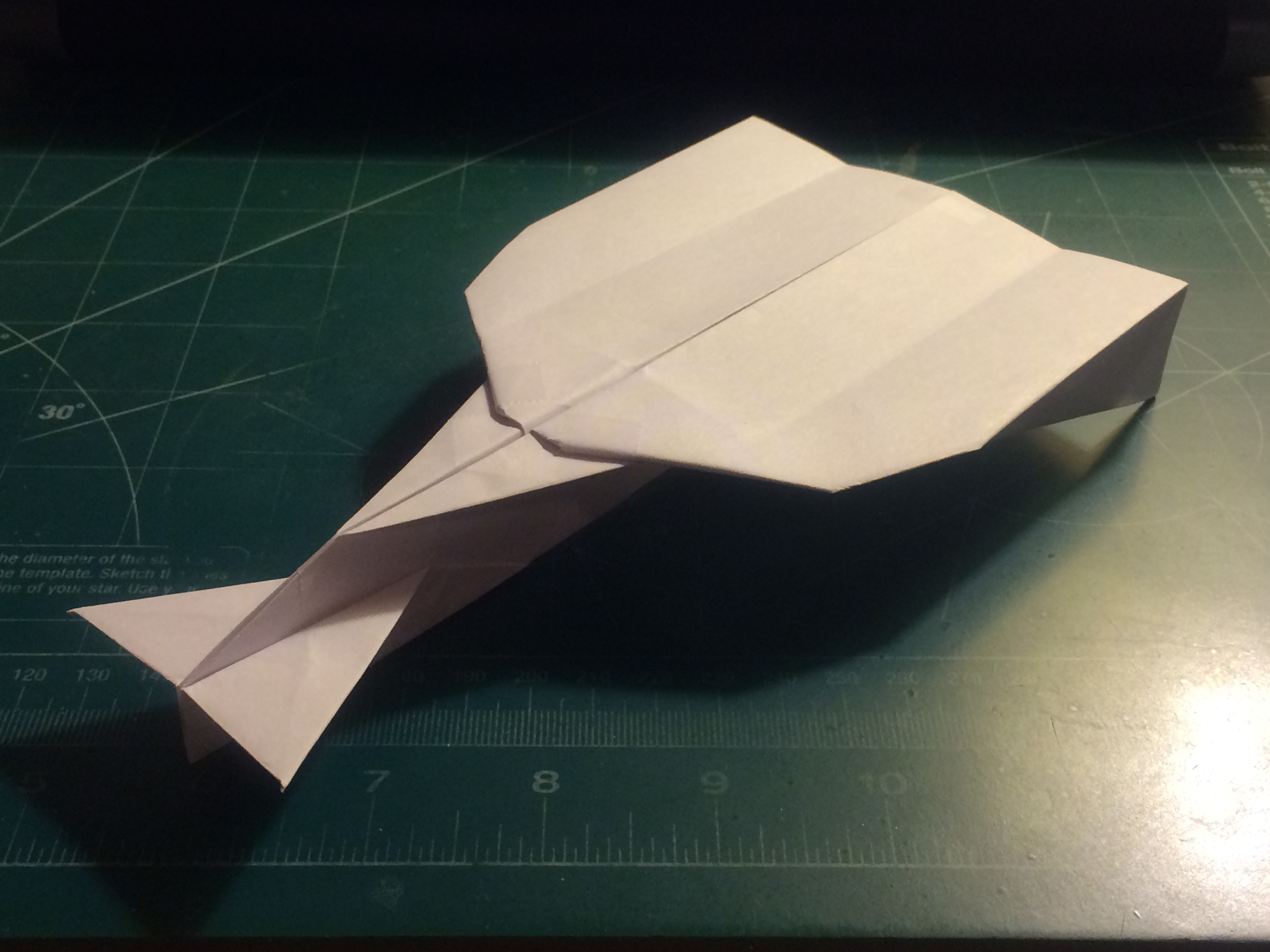 Picture of How to Make the MetaVulcan Paper Airplane