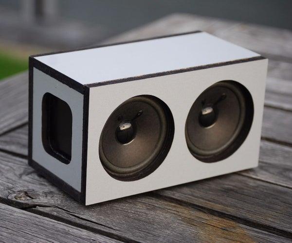 Powerful Portable Bluetooth Speaker 2x5W