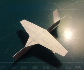 How To Make The SkyTraveler Paper Airplane