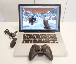 Use an Xbox 360 Controller on OS X (wired + wireless)