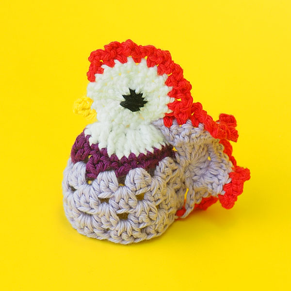 Picture of Crochet Rooster Egg Cozy