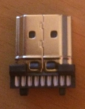 Picture of Ethernet, HDMI and the Usb Hub