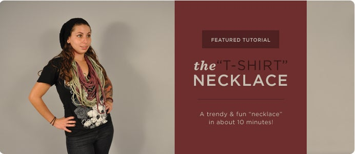 The T-Shirt Necklace