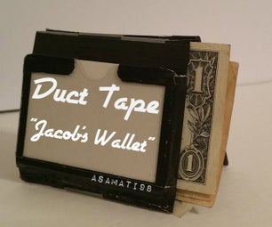 """Duct Tape """"Jacob's Wallet"""""""