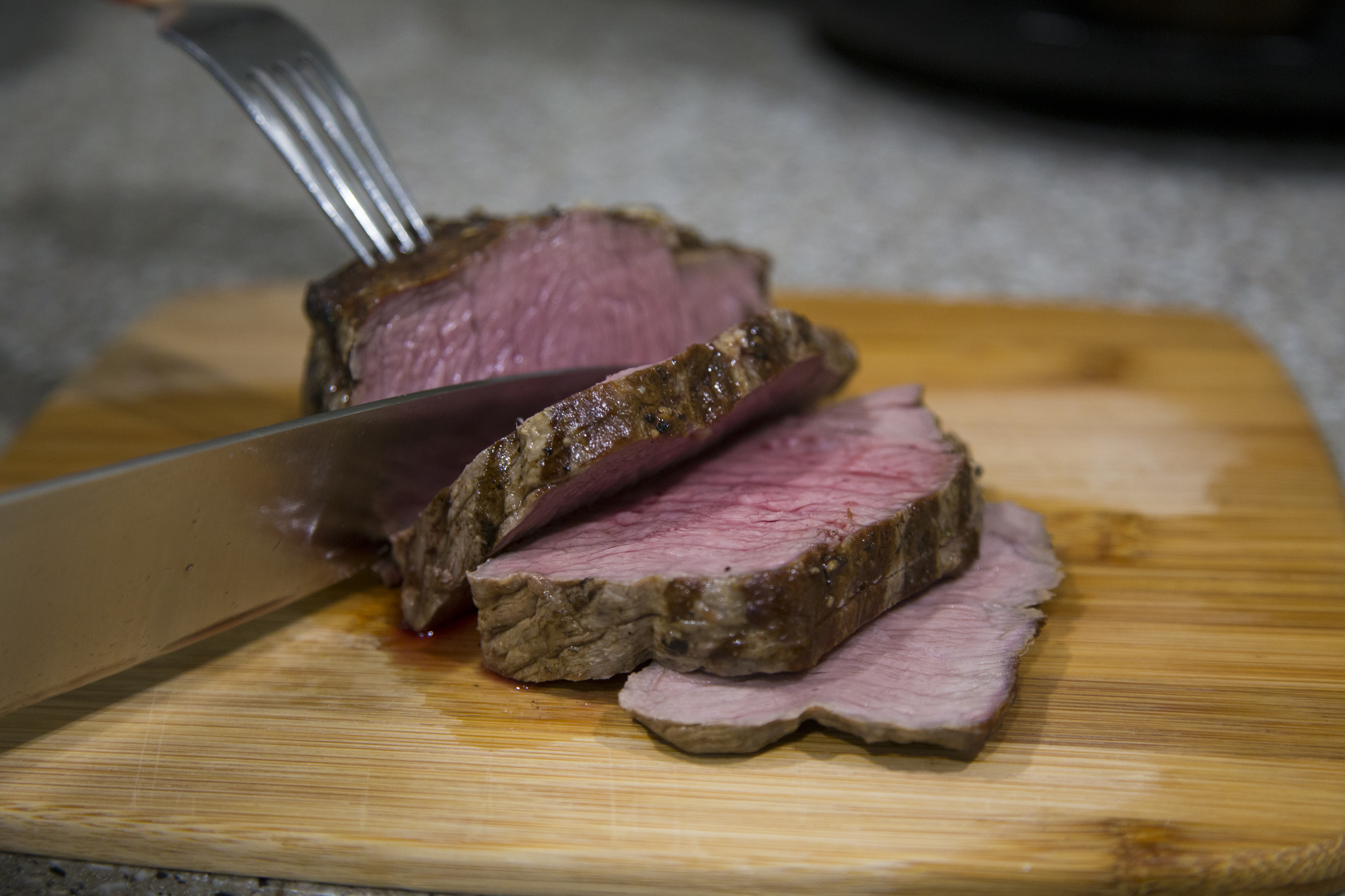Picture of Prepare the Steak for Plating