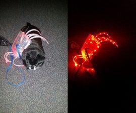 LED Spider Decoration or Dog Costume
