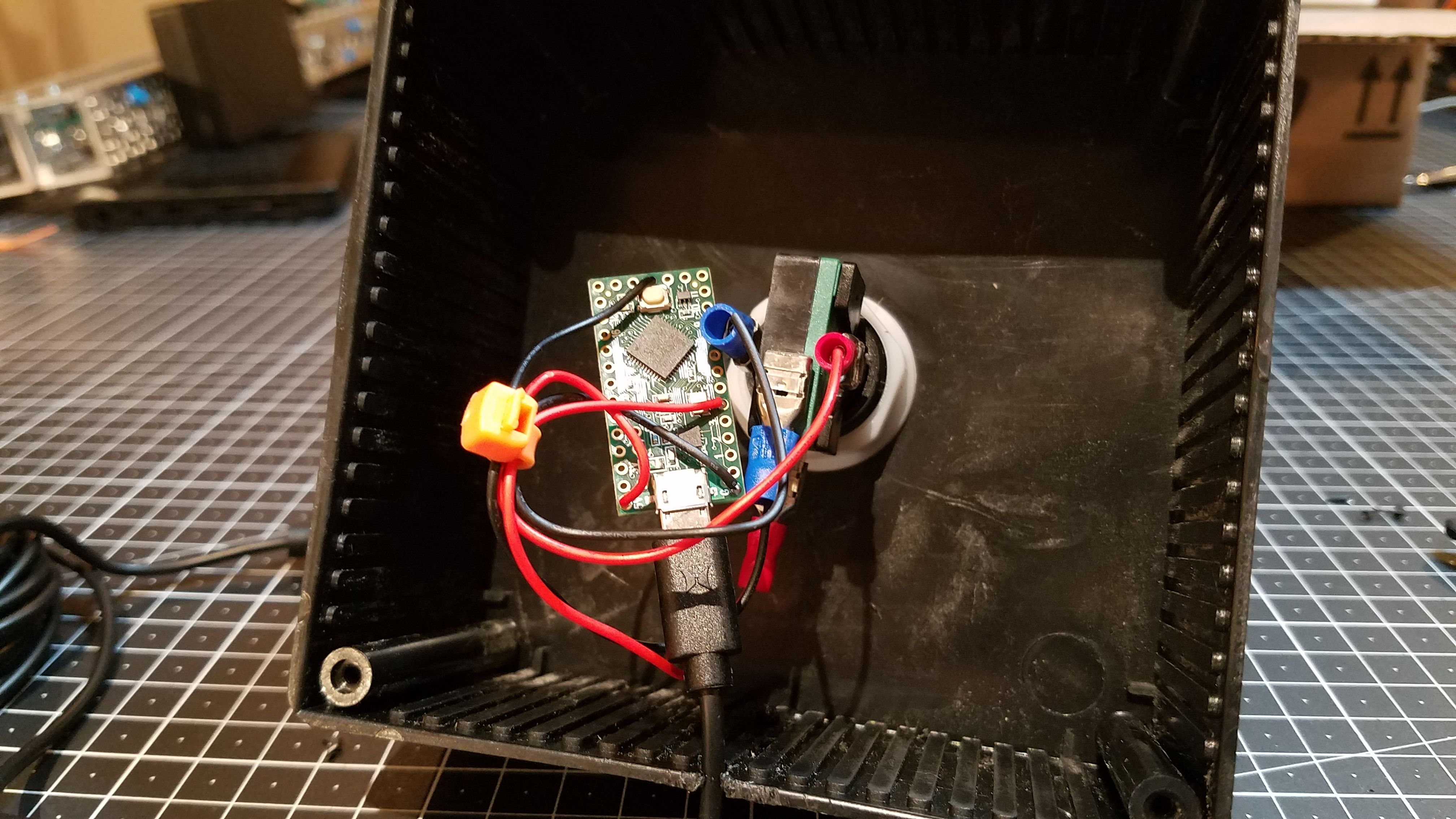 Picture of Wiring the Button
