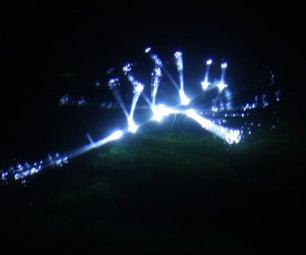 Solar LED Underwater Graffiti Creatures
