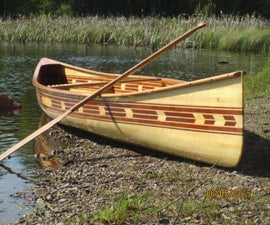 Building My Cedar Strip Canoe