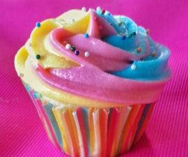 Rainbow Swirl Icing