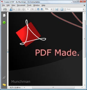 PDF Creation: Complete
