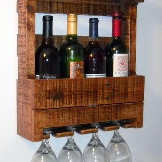 The Pallet Wine Rack