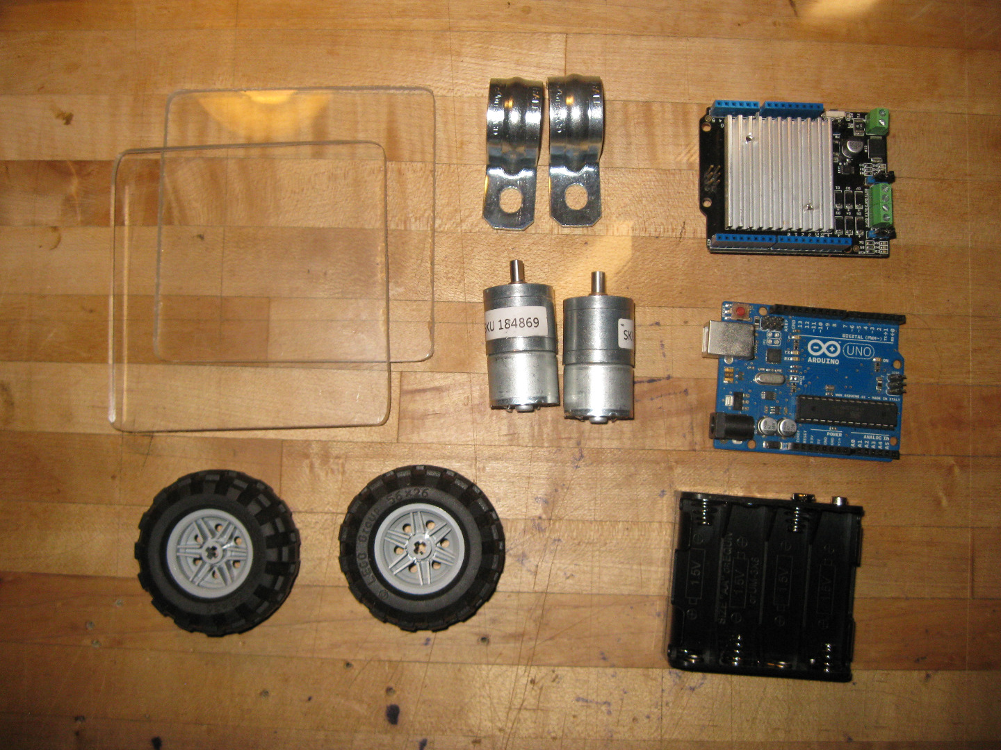 Picture of Assembling the Parts- Digging Through the Parts Bins