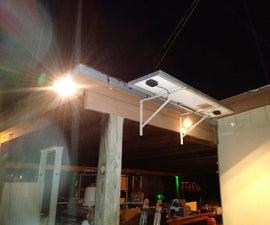 Solar Powered LED Yard Lighting Made Cheap & Easy