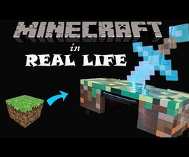 Minecraft Inspired Desk