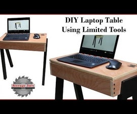 DIY Laptop Table - Using Limited Tools & Plywood