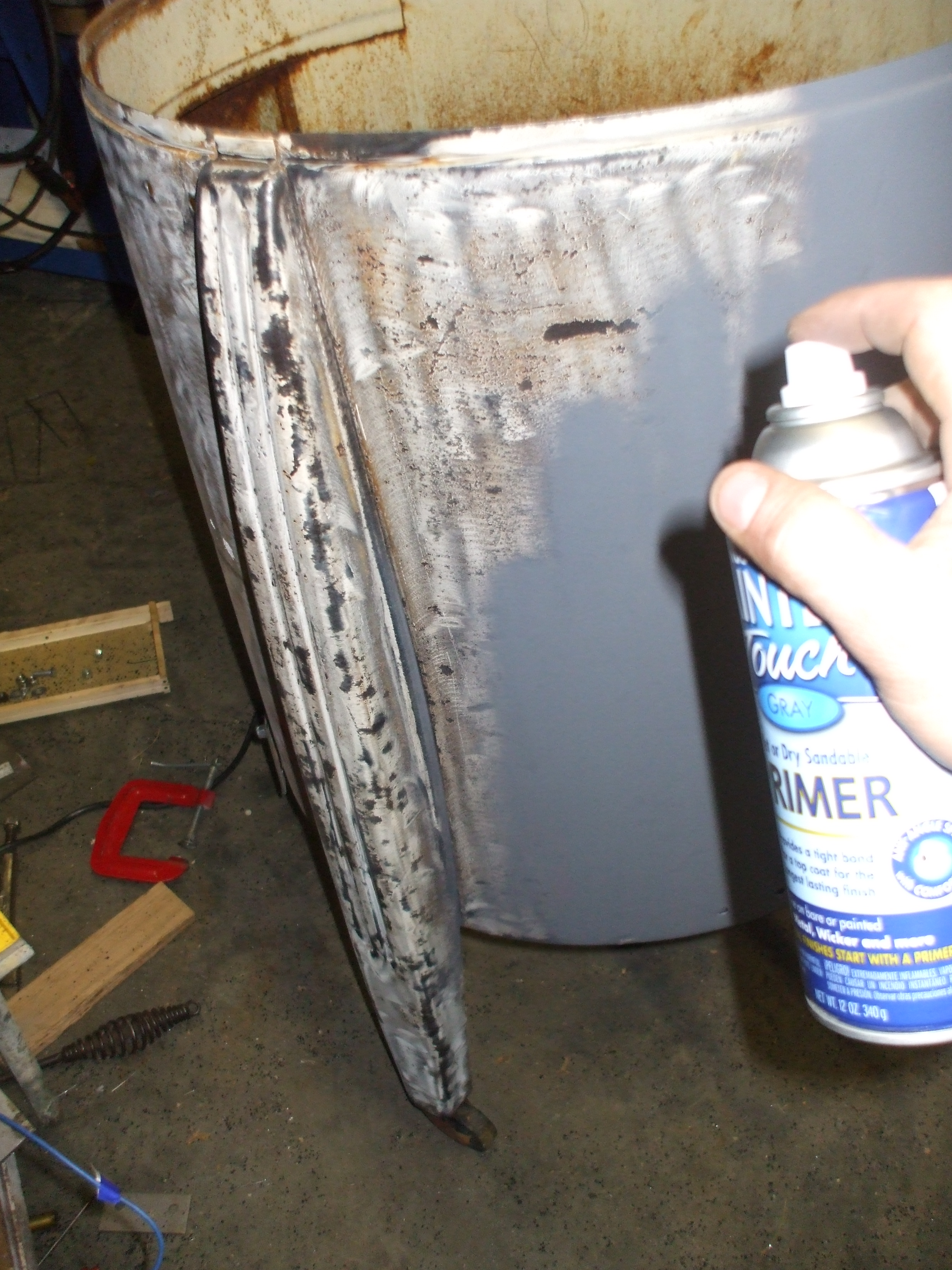 Picture of Sanding, Primer, and Paint (the Cosmetic Stuff)