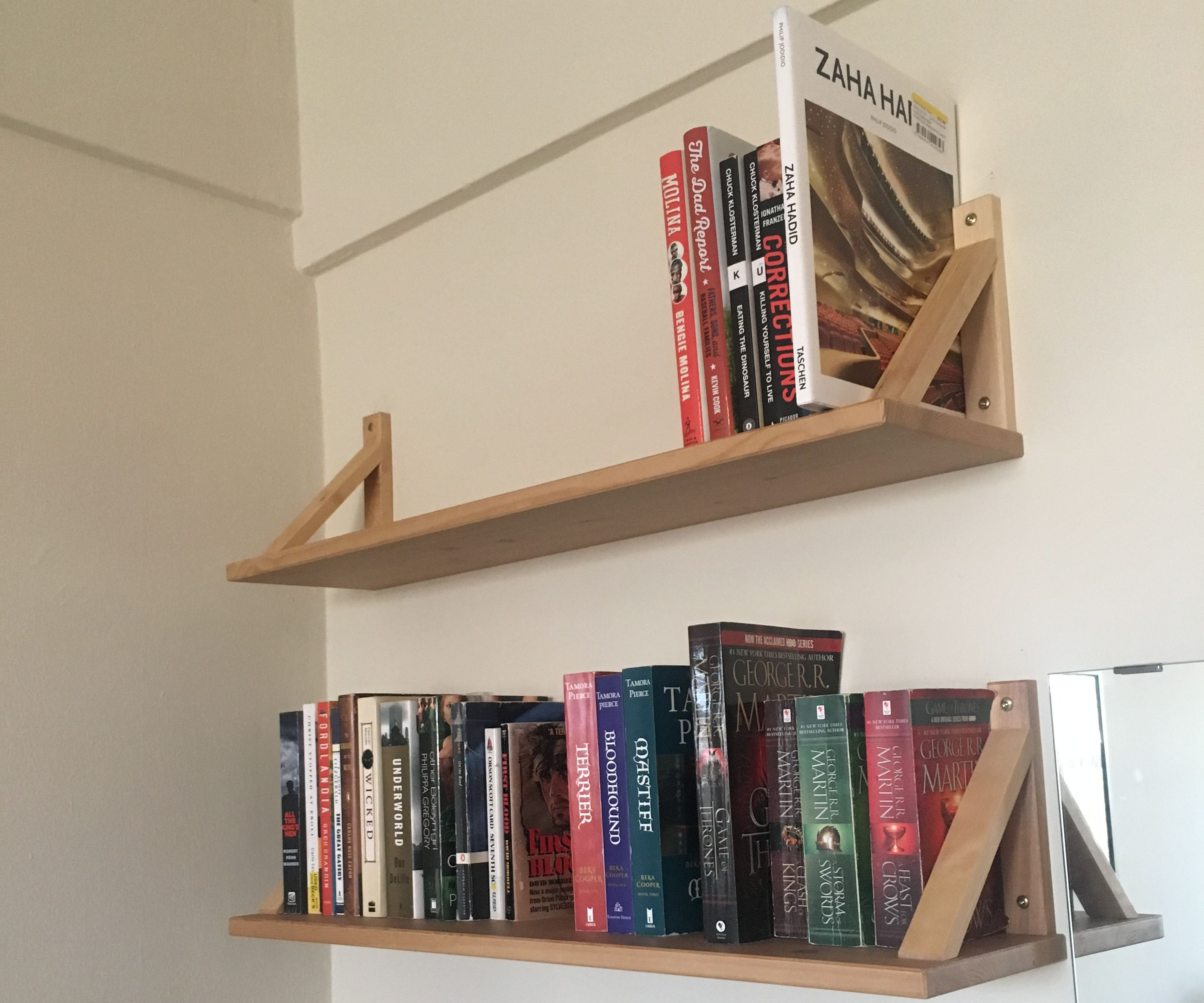 Ikea Ekby Shelf Hack 8 Steps With Pictures