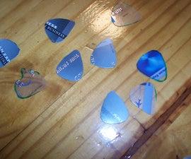 Credit Card Guitar Picks