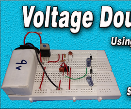Voltage Doubler Circuit | Using 555 Timer | DIY | How to Make | Increase Voltage 2x