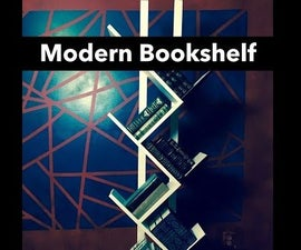 Ultra Modern Bookshelf Simple and Clean