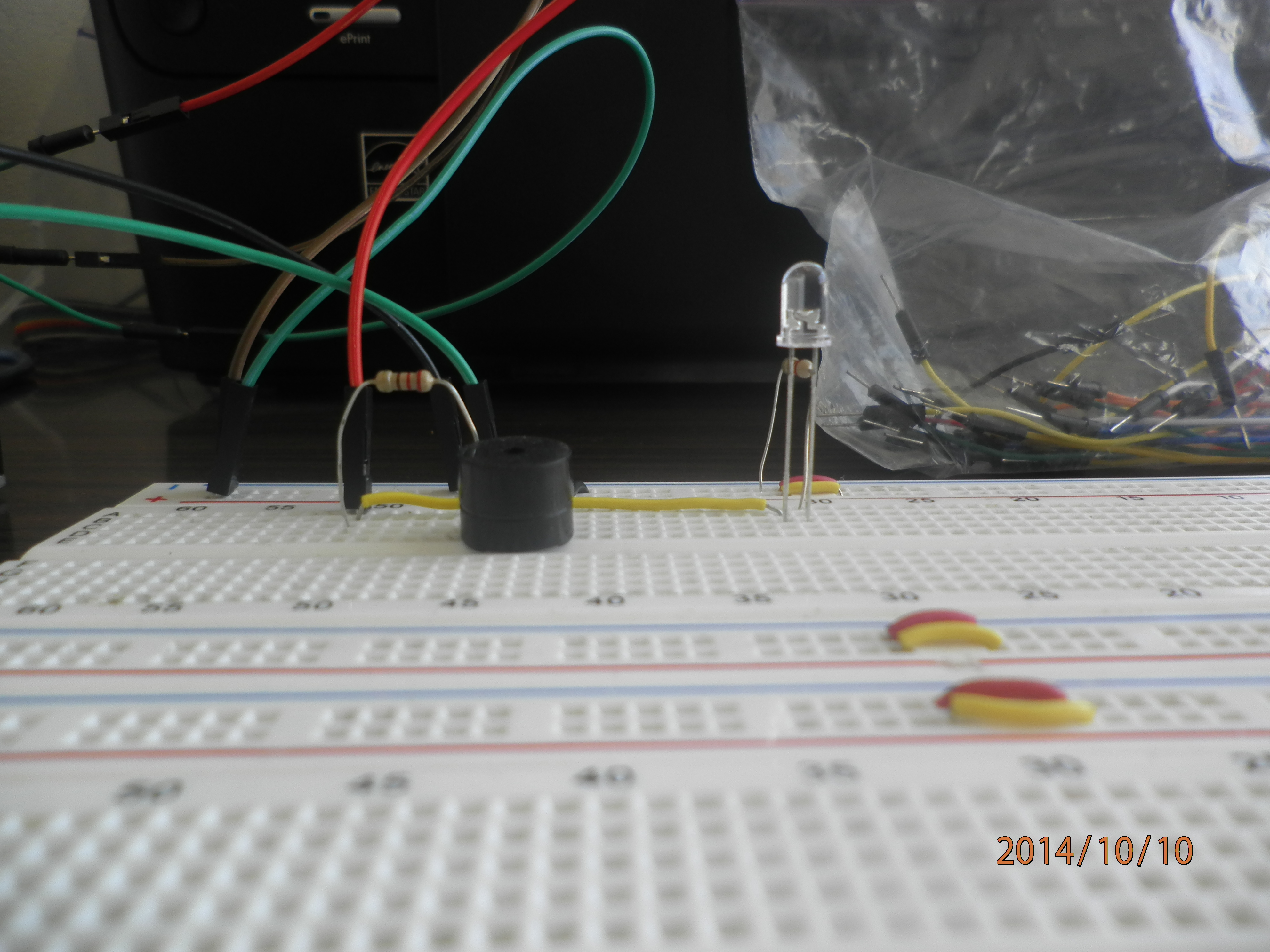 Picture of Making the Circuit