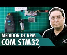 RPM Meter With STM32
