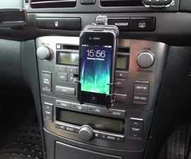 Cassette Deck iPhone Holder