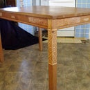 Carved Celtic Knot IKEA Kitchen Table