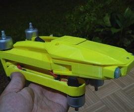 Printable Foldable Quadcopter, DJI Mavic Clone Frame