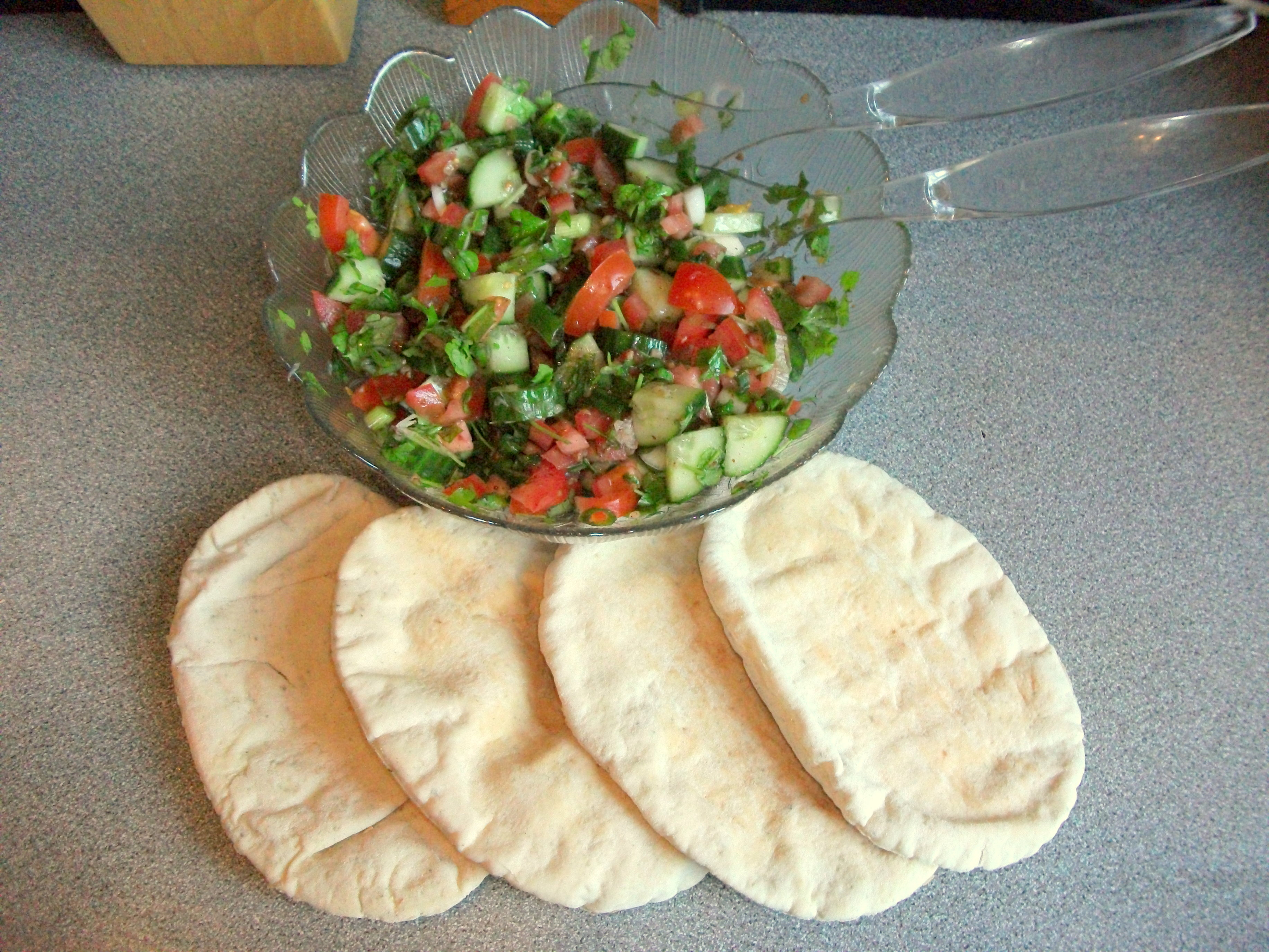 Picture of Fatoush - a Zesty Middle-eastern Salad