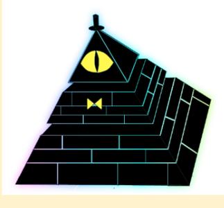 Bill Cipher Pyramid Speaker