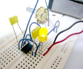 Simple (and dirty) Pulse Width Modulation (PWM) With 555 Timer
