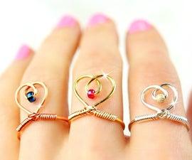 DIY Rings | Adjustable Rings | Easy DIY Rings