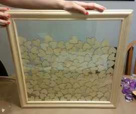 How to make a guest book picture frame