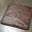 Stitched Leather Coaster