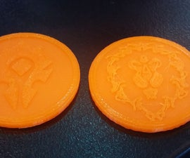 Lets Make 3D Printable Tokens/coins