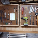 Reclaimed Tool Storage (Peg Board)