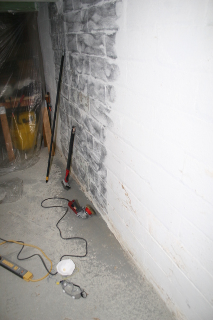 Picture of Prepping the Wall