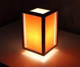 DIY Floating Night Lamp