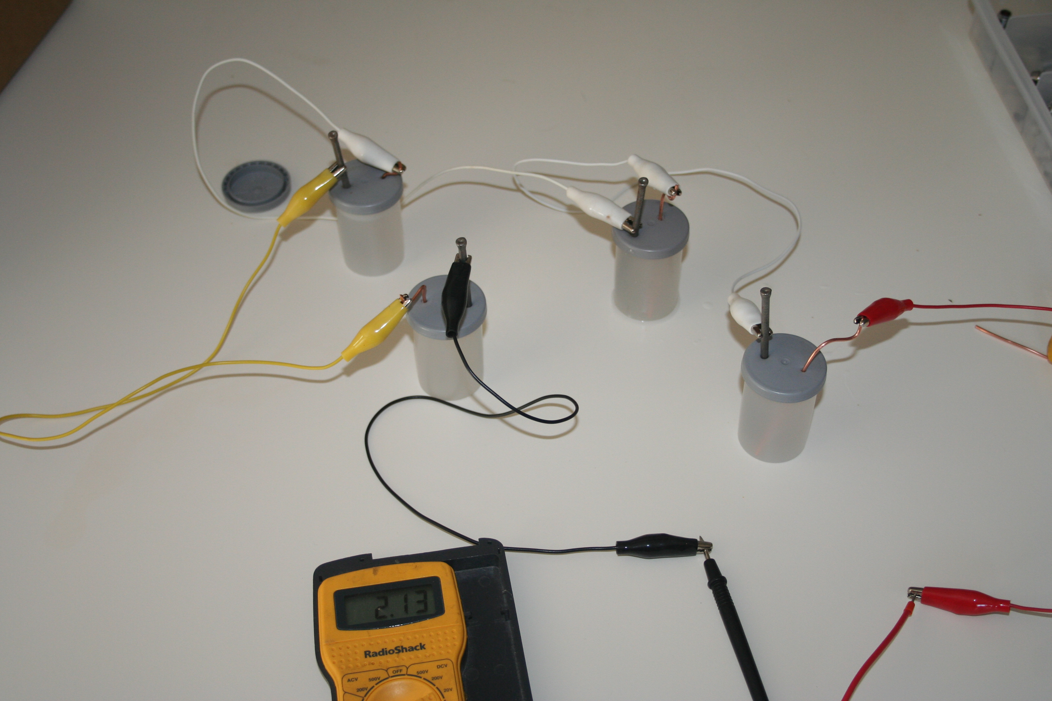 Picture of Connecting Batteries