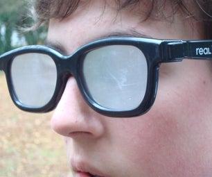 Diffuser (Polarizer) Glasses