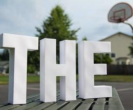 Crafty Type - Papercraft Typography