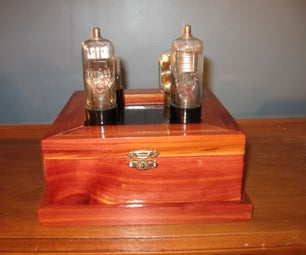 Vintage Vacuum Tube Display (with Solar Power!)