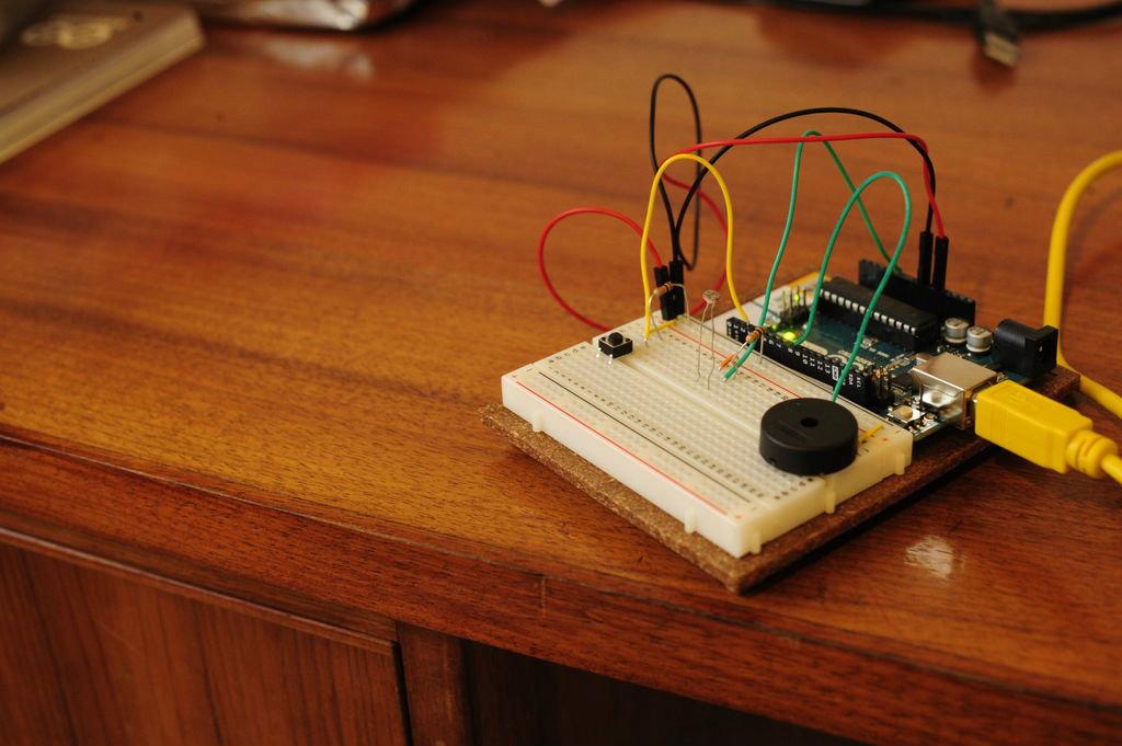 Picture of Arduino Light Sensitive Door Bell