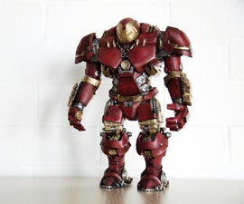 How to assemble the 3D print Hulkbuster?