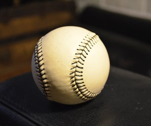 Replacing the Outer Leather Shell on a Baseball