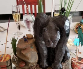 How to Make a Black Panther Wedding Centerpiece